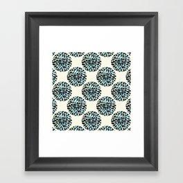 Petal Burst #5 Circles Framed Art Print