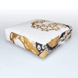 Metallic Octopus Outdoor Floor Cushion