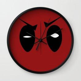 Not Your Average Hero Wall Clock