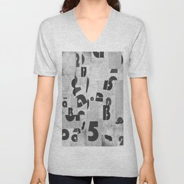 Abstract pattern 51 Unisex V-Neck