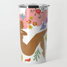 Nakey Lady Travel Mug