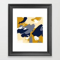 Eve; Abstract Art. Framed Art Print