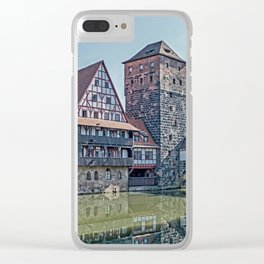 Romantic Nuremberg, -Franken-Bavaria-Germany Clear iPhone Case