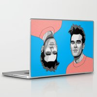 the smiths Laptop & iPad Skins featuring Handsome Devil by Grace Teaney Art