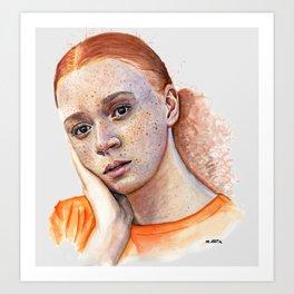 Erin Kellyman Art Print