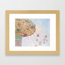 Summer Swings Framed Art Print