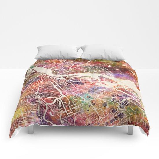 Amsterdam map Comforters