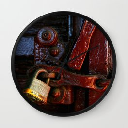 Fragments of Time: Iron Horse Series No. 002 Wall Clock