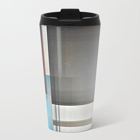 Geometric A/TZ Metal Travel Mug
