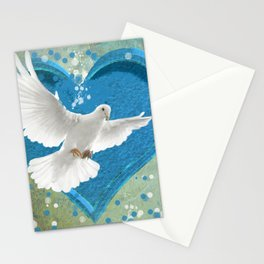 Bird of Peace and Love Stationery Cards