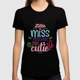 Little Miss Preschool Cutie T-shirt