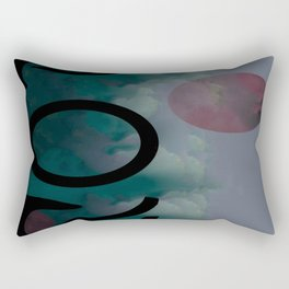 Mercurial Methodology Rectangular Pillow