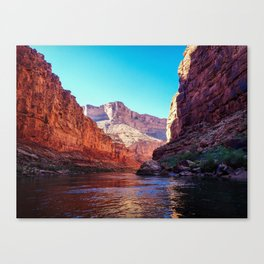 Floating the Colorado *resized* Canvas Print