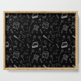 Witchy pattern Serving Tray