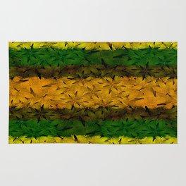Tribal Floral Pattern Rug