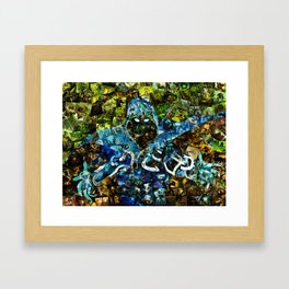 Jace, Mind Mage Framed Art Print