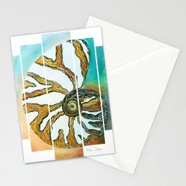 Oceana Chambered Nautilus-Barbara Chichester  Stationery Cards