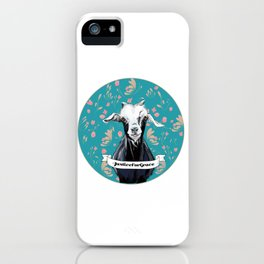 Goats of Anarchy Fundraiser: Grace iPhone Case