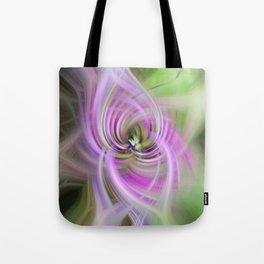 Meditation Swirl Purple Wisconsin Wildflower Tote Bag