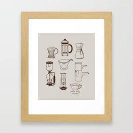 Brew Framed Art Print