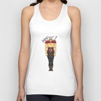 viking Tank Tops featuring viking by kureiii