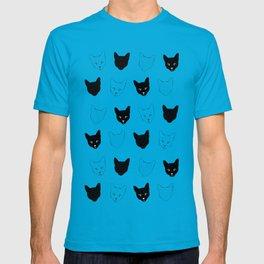 Cat Pattern T-shirt