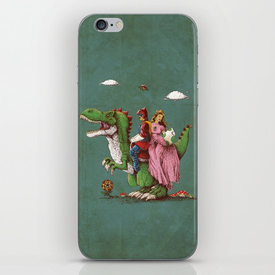 historical reconstitution iPhone & iPod Skin