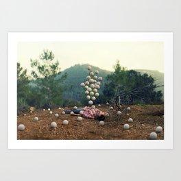 """Somethings bubbling up"" by Ronen Goldman Art Print"