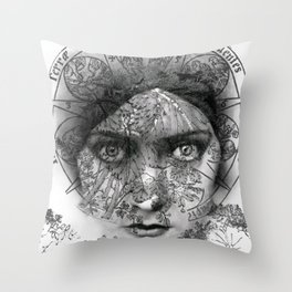 The Eyes of Alchemy Throw Pillow