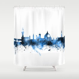 Florence Italy Skyline Shower Curtain