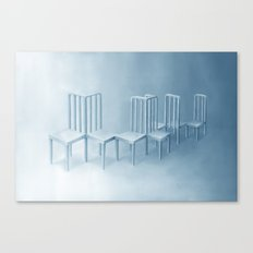 Interconnected Chairs Canvas Print