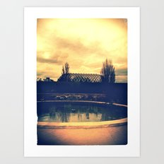 Denver Botanical Green House Art Print