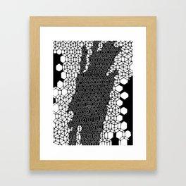 Honeycomb 4 Framed Art Print