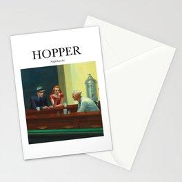 Hopper - Nighthawks Stationery Cards