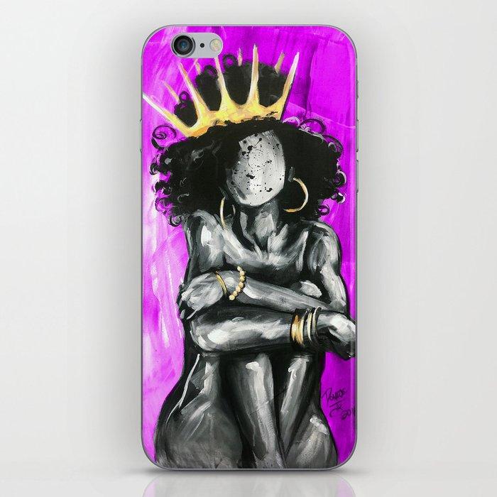 Naturally Queen IX PINK iPhone Skin