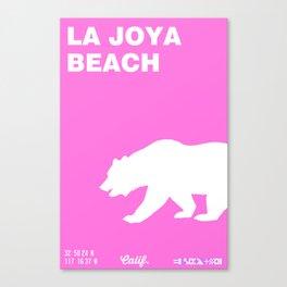 La Joya - California. Canvas Print