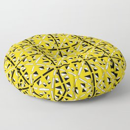 symetric patterns 89-mandala,geometric,rosace,harmony,star,symmetry Floor Pillow