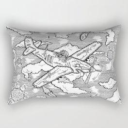 """""""Bombs Away"""" Rectangular Pillow"""