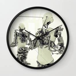 MOTHERFRAME Wall Clock