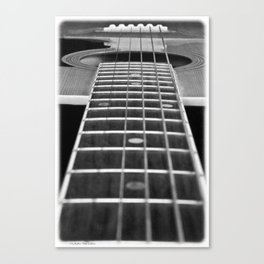 Guitar Gently Weeps Canvas Print