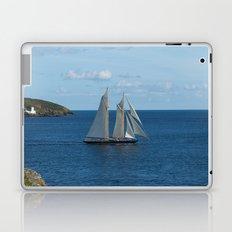 Blue Schooner 04 Laptop & iPad Skin