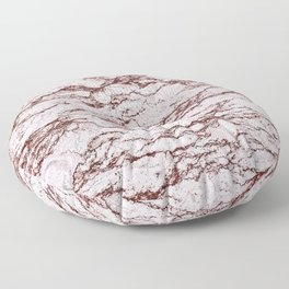 Polished Marble Stone Mineral Abstract Texture 32 Floor Pillow