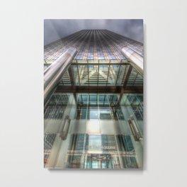 One Canada Square London Metal Print
