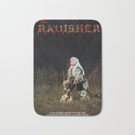 The Ravisher movie poster by Cameron Cox Bath Mat
