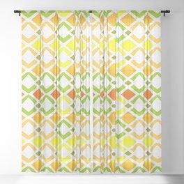SUMMER DAYS DIAMONDS IN THE SUN ARTWORK Sheer Curtain