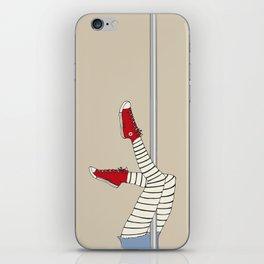 CONVERSE POLE DANCE iPhone Skin