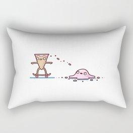 Ice cream skate Rectangular Pillow