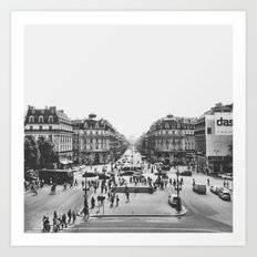 View of Paris Art Print