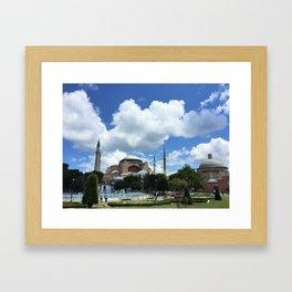 Hagia Sofia in Istanbul Framed Art Print