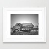potato Framed Art Prints featuring Spud Potato by Jane Lacey Smith